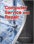 Computer Service and Repair Textbook image.